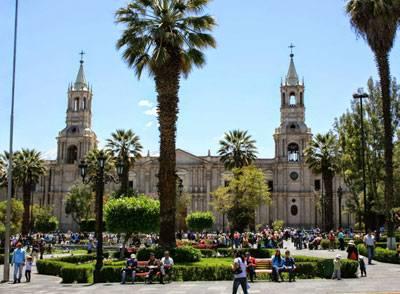 Visite d'Arequipa