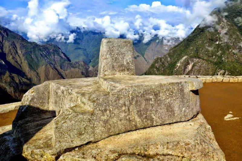 intihuatana au Machu Picchu