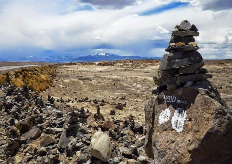 Mirador de la cordillère des Andes