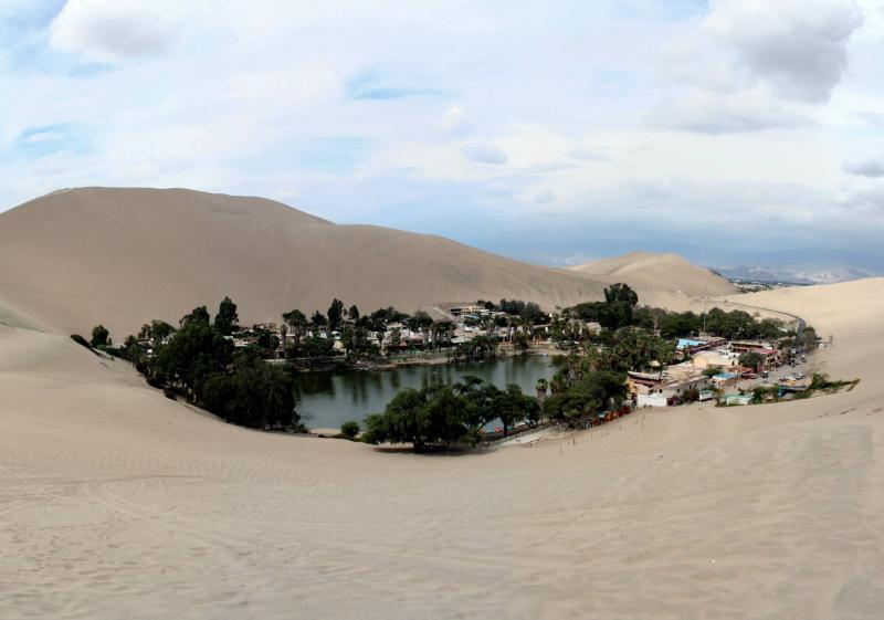 oasis de Huacachina près d'Ica