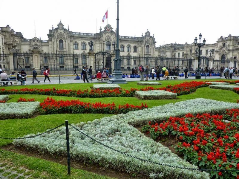 Place armes à Lima