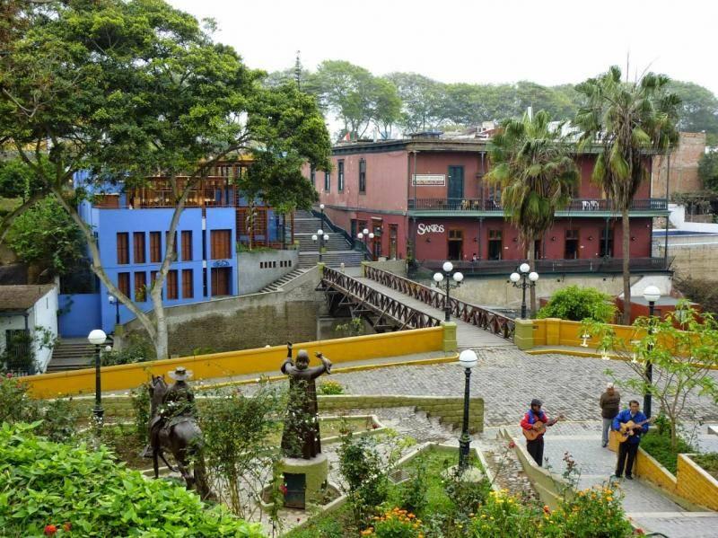 le pont des soupirs de Barranco, à Lima