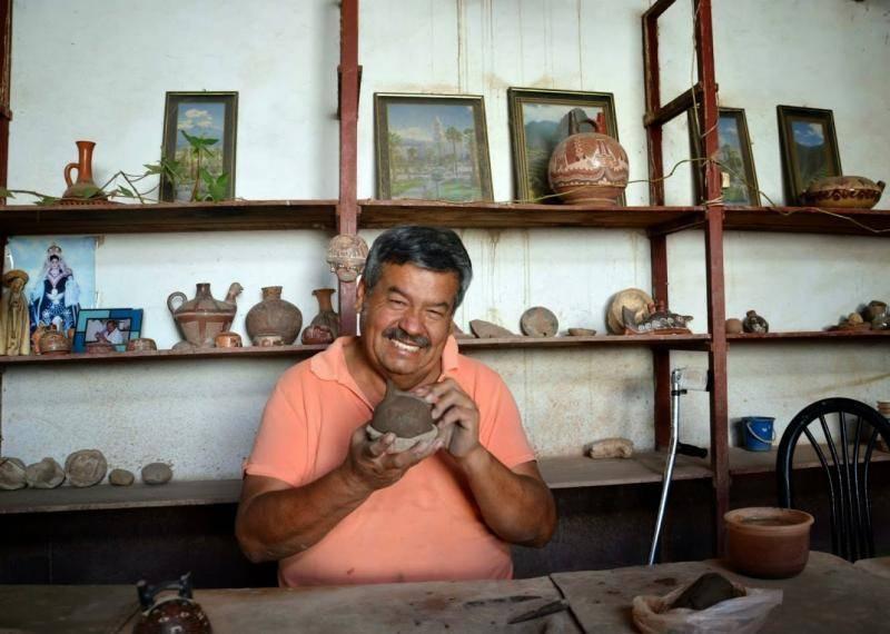 Potier à Nazca