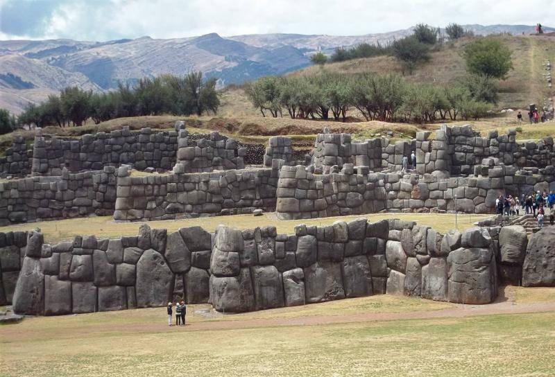 forteresse de Sacsayhuaman près de Cusco