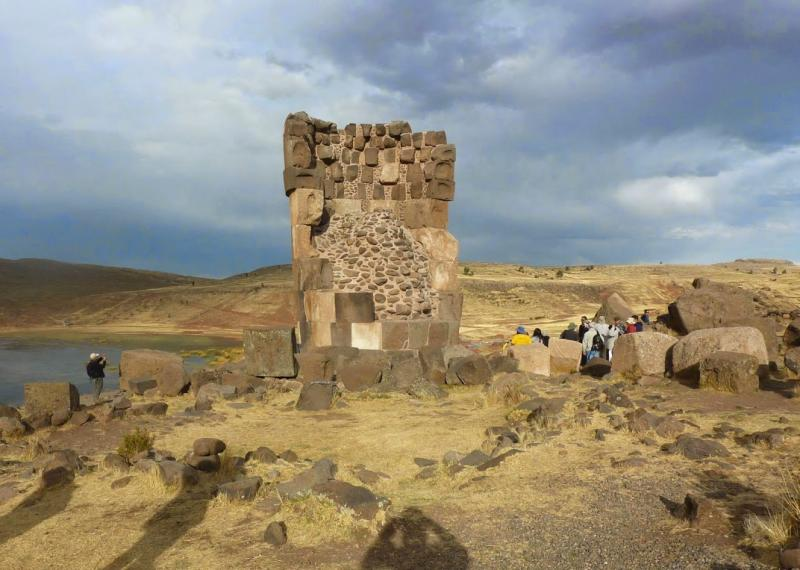 Sillustani, site pré inca au Pérou