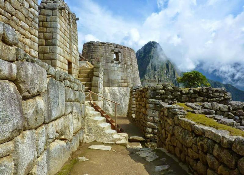 Temple du soleil du Machu Picchu