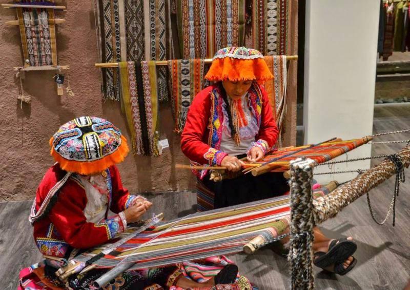 tissage péruvien à Cusco