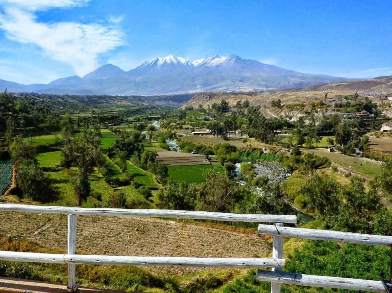 la vallée d'Arequipa