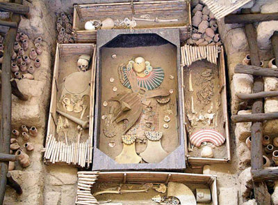 Visite de Tucume et du tombeau royal de Sipan