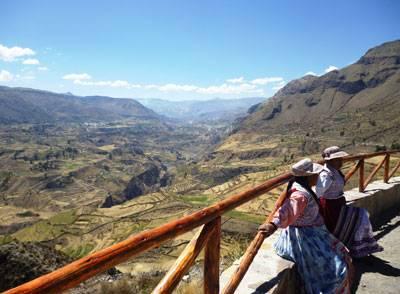 tour dans le canyon de Colca